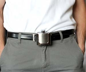 Belt Buckle Flask, from ThisIsWhyImBroke.com http://bit.ly/PGdXkd