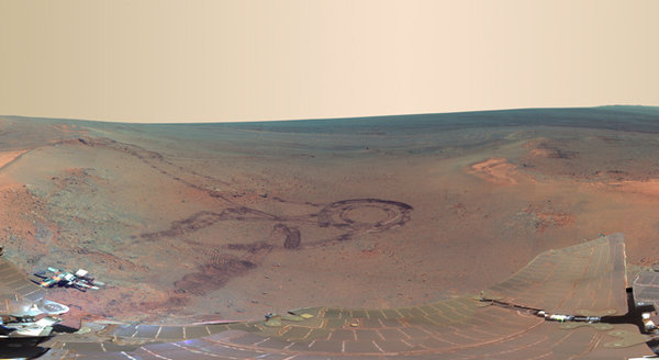 thecultureofme:  latimes:  NASA unveiled a new Mars panorama, taken by the rover Opportunity during its fifth winter on the Red Planet. Photo credit: NASA/JPL-Caltech/Cornell/Arizona State University  Dopest beach ever?  #Yop!