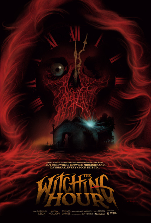 Here's my poster art for The Witching Hour (1984). An anthology from the mind of Rodrigo Gudiño. If They Came From Within: An Alternative History of Canadian Horror opens with FanTasia at the Cinematheque, July 20th. See you there!