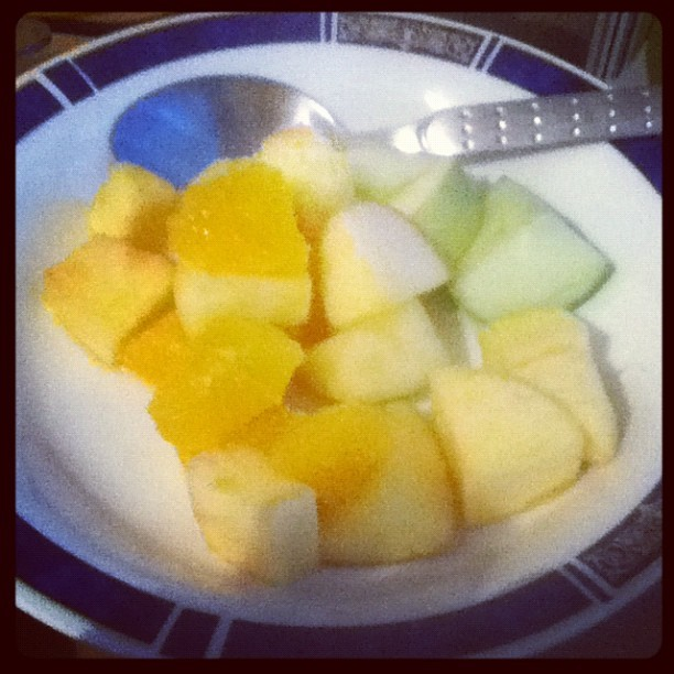 Woolies fruit salad. #FoodUpload  (Taken with Instagram at Morningside Manor)
