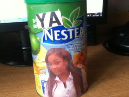 collegehumor:  Raven Symone Thinks Nestea is Nasty Ewwww, natural flavors.