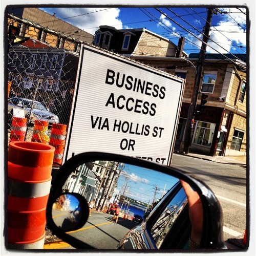 Business access for sure #halifax #novascotia #igers #iphonegraphy #donttrythisathome #professionaldriver #mbm #marvsvarious #summer #iphonesia  (Taken with Instagram)