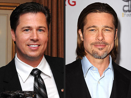 """I do have a 'man room'."" - Brad Pitt's younger brother Doug, on the only similarity between his real life and the viral tongue-in-cheek depiction for an Australian Virgin Mobile ad campaign, on the Today show"