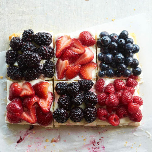Daily Dish: This Berry Patchwork Tart was featured in our July issue! Make it for your next summer get-together.