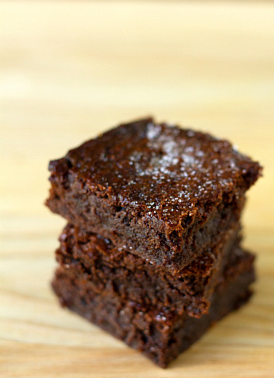 food-is-my-true-love:  Sweet and Salty Brownies