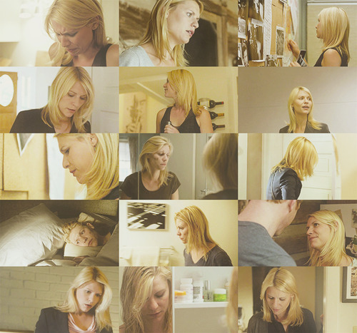homeland carrie mathison in yellow beige? taupe? idek. {requested by mintgum}