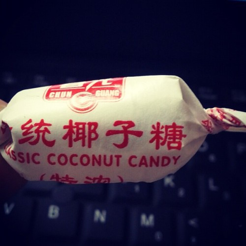 i love this#coconut #candy (使用Instagram拍摄)