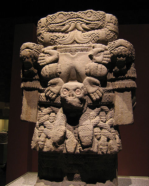collective-history:  The Aztec goddess of Coatlicue, mother of earth. National Museum of Anthropology.