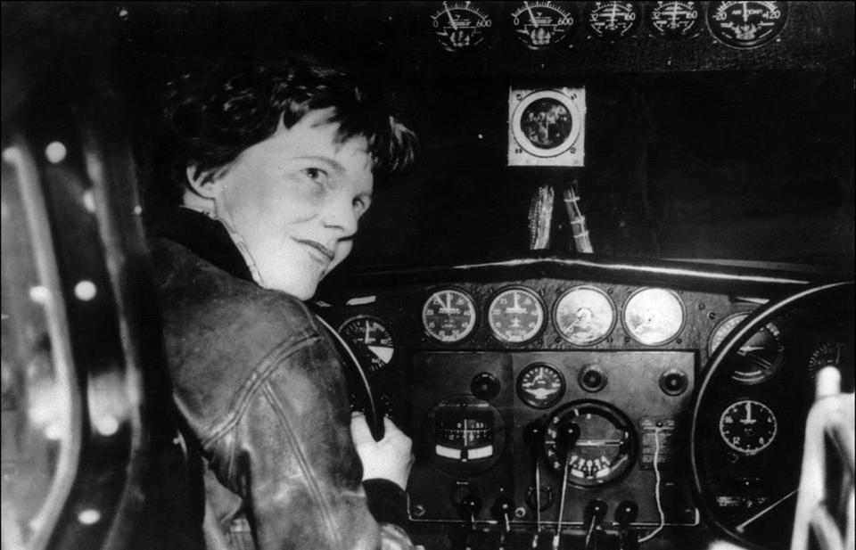 Amelia Earhart search revives her local connections  Growing up in Lynn, Jim Morrissey dreamed of two events happening in his lifetime: He wanted to see the Red Sox win a World Series, and he wanted someone to solve the disappearance of his great-aunt, Amelia Earhart.  (AFP/GETTYIMAGES)