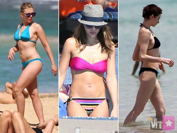 Bikini Awards: Scarlett Johansson, Jessica Alba And Anne Hathaway Lead The Leading Ladies [VH1 Celebrity]