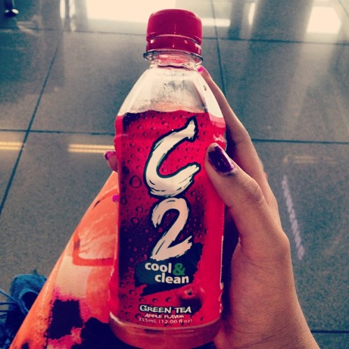 Reunited with my fave drink C2 #philippines #coolandclean (Taken with Instagram)