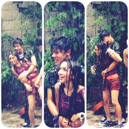 KathNiel BTS for Ulan SID 2012.