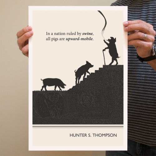 Lovely Literary Art Prints That Feature Quotes By Famous Authors