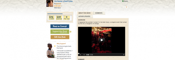 Crowdfunding Educators features He Never Liked Cake by Jana Leyde . We are SO excited! (via He Never Liked Cake by Jana Leyde featured on Pubslush | crowdfundingeducatorscrowdfundingeducators)