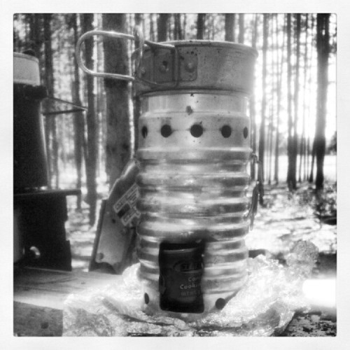 "Swiss Ranger ""volcano stove"" #campcooking  (Taken with Instagram at Hal's Trail)"