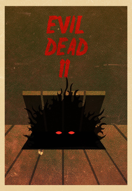 The Evil Dead II by Tim Staszak of Block Club