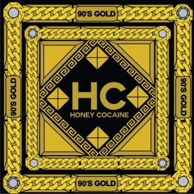 "the artwork for ""90s Gold"" x Honey Cocaine.She remixed some of the best songs from the 90's.. Download here…"
