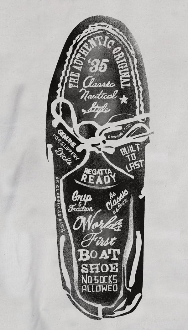 visualgraphic:  Sperry Top-Siders Illustrations