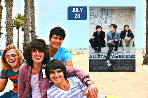 WELLINGTON & ALL STAR WEEKEND - LOS ANGELES 7/23 August 14th tickets on sale now!! http://bit.ly/stageitaugust14