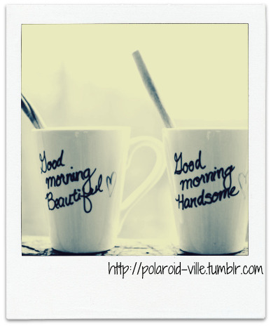 Coffee.  http://polaroid-ville.tumblr.com