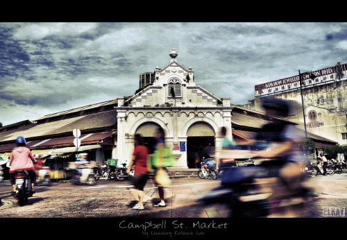 Campbell St. Market 8th July 2012 | Penang, Malaysia Nikon D700 | Nikkor 28-100 mm | HL-Optics 62mm Nature Fader ND [W]  ISO100 | 31mm | f/20 | 1/8s post processing with Dynamic-Photo HDR & ACDSee Pro 5