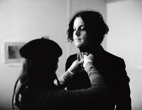 Happy birthday Jack White!  Celebrate his birthday by checking out photos by Autumn de Wilde from the White Stripes' 2007 tour or by reading our 2005 cover story on the band.