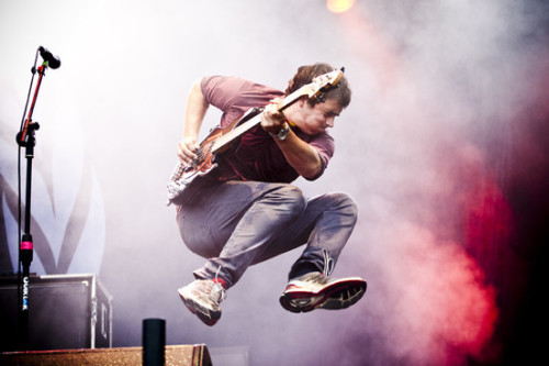 Photo of the Day Enter Shikari @ T In The Park 2012 via NME