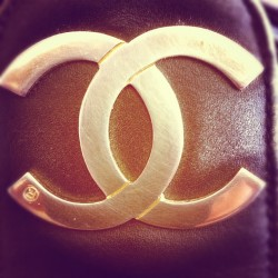 Vintage Chanel #designer #vintage #chanel #accessories (Taken with Instagram)