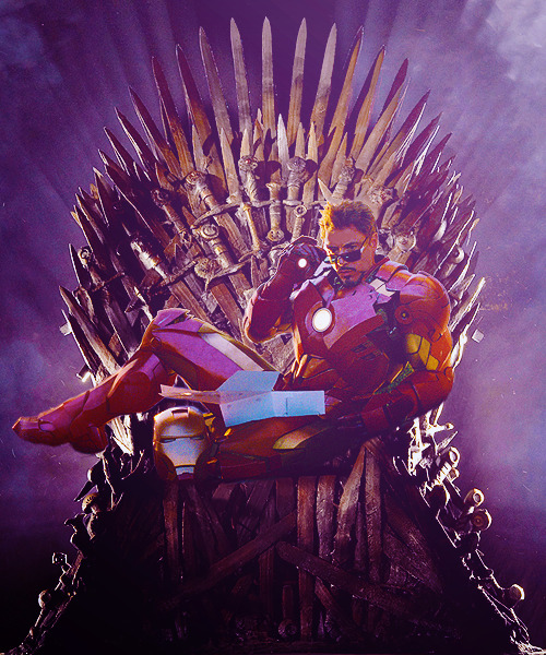 #and finally the rightful stark will sit on the iron throne