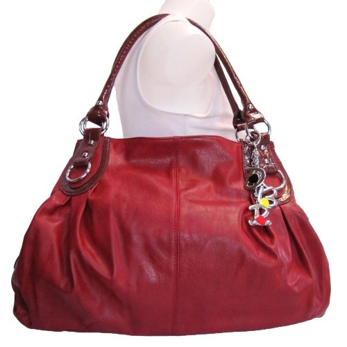 What a Beautiful Red Hobo Handbag Bag… I can't Believe its So Cheap too!!