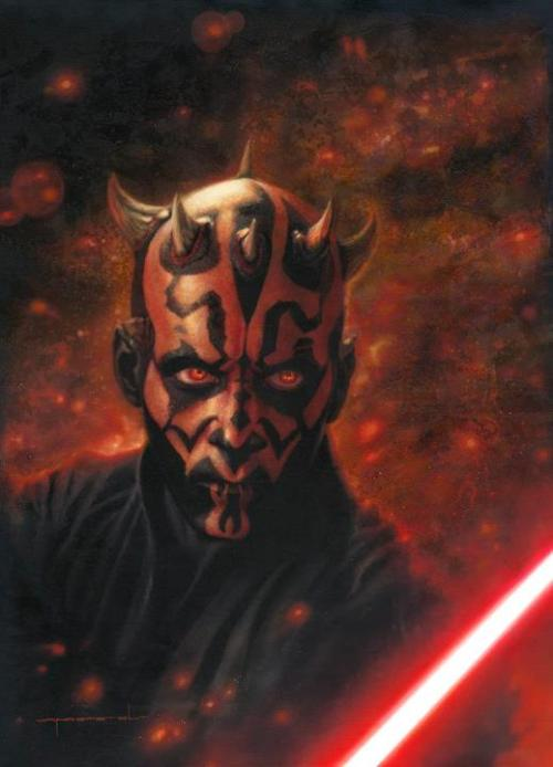 zenothian-archives:  Darth Maul  The Phantom Menace is the first movie i can remember watching in theaters. i thought Darth Maul was the coolest looking character EVER. (my love of villains started very early.)