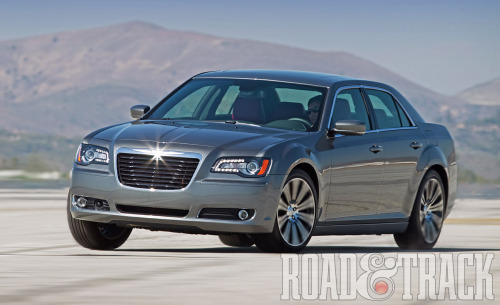The 2012 Chrysler 300S comes with a 3.6-liter V-6 that produces 292 bhp and 260 lb.-ft. of torque mated with the new ZF 8HP45 8-speed automatic transmission. (Source: Road & Track)