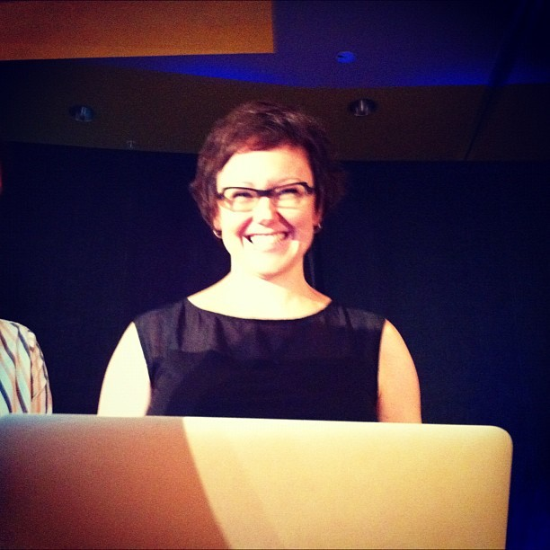 Miss Halvorson #aea  (Taken with Instagram at An Event Apart Austin)