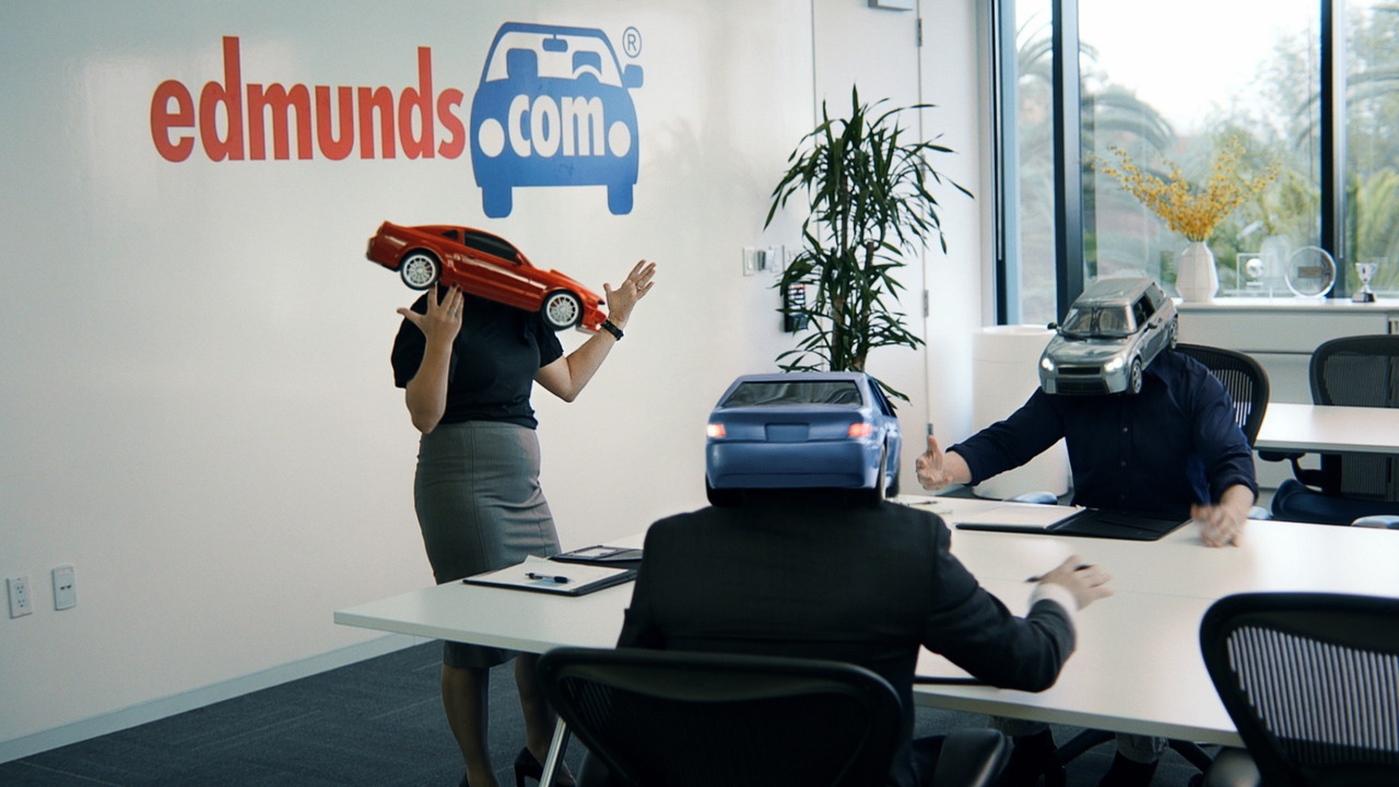 "Edmunds.com launched its first TV ad campaign this week with a 30-second spot that underscores how much its employees are ""car people."" Click here to watch the Ask the Car People commercial."