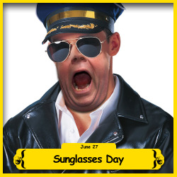 The BFO is celebrating Sun Glasses Day!