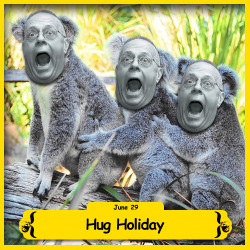 The BFO is celebrating Hug Holiday!