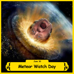The BFO is celebrating Meteor Day!