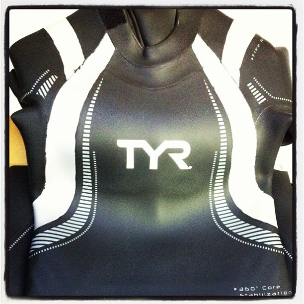 New wetsuit arrived. Guess I'm committed to the #expeditionman relay now! (Taken with Instagram)