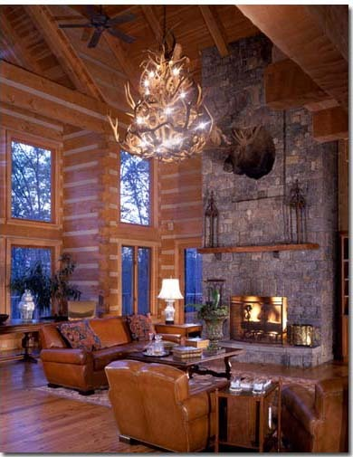 NAHB's Home of the Day is celebrating Log Home Month (aka: July). Loving the fireplace in this great room! You can find out more about Log Home Month at http://loghomes.org. And to see more of this terrific home, visit: http://www.nahb.org/news_details.aspx?sectionID=1849&newsID=7924&utm_source=tumblr&utm_medium=social&utm_campaign=HOTD