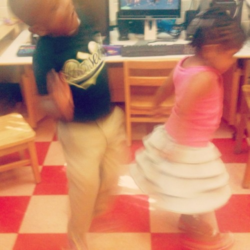 Jump, down, turn around… #kids #school #dance (Taken with Instagram)