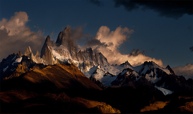 vibrantscenery:  Mt Fitz Roy by Doug Solis on Flickr.