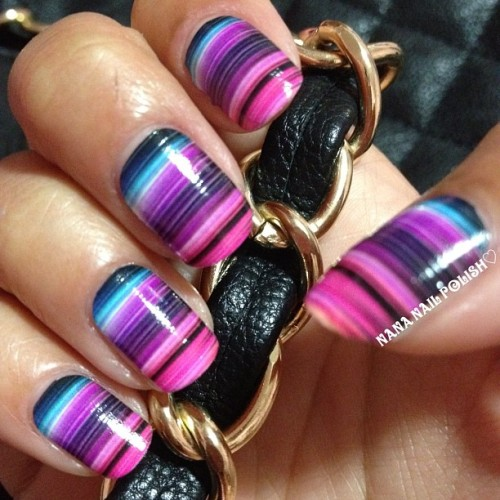 @shopncla - Jazzi (nail wraps) #nailart #nailcall #mani #jazzi #ncla #nails #nailwraps (Taken with Instagram)