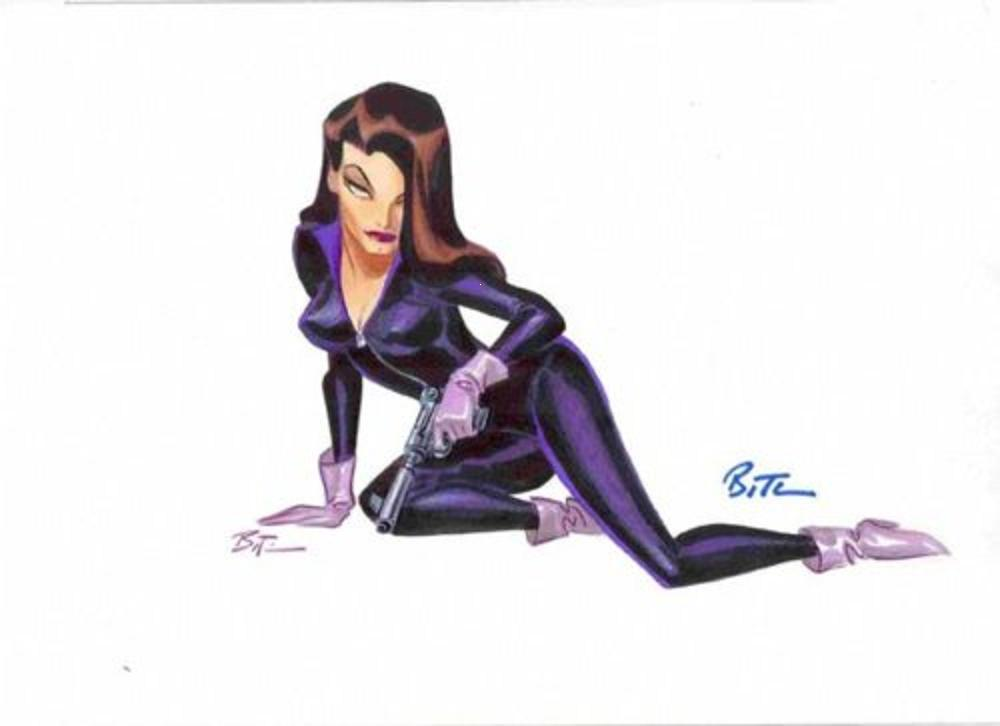 Talia Al Ghul (Animated Series), Bruce Timm