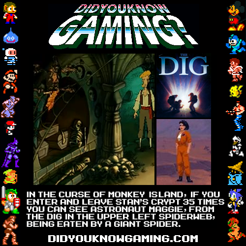 didyouknowgaming:  Monkey Island. Submitted by ToMiaL3.