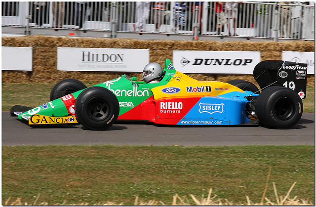 1988 Benetton Ford B188 F1 Goodwood Festival of Speed 2009 by Antsphoto on Flickr.Goodwood House, England, GB