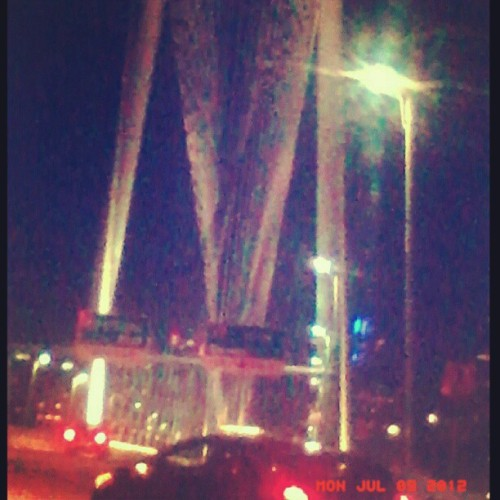 Dallas New Bridge (Taken with Instagram)