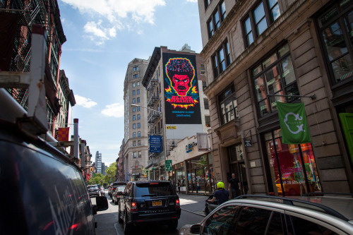 blackdynamitetv:  Black Dynamite Vertical Billboard New York City