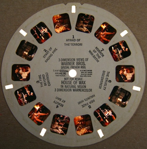 Promotional ViewMaster for House Of Wax (1953)