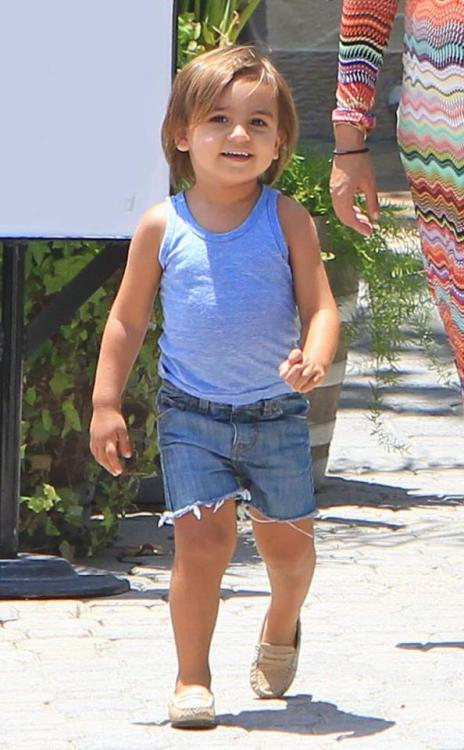 Mason Disick now has a baby sister! Check out how mama Kourtney Kardashian came up with the name Penelope Scotland here: http://eonli.ne/PBbk1Z