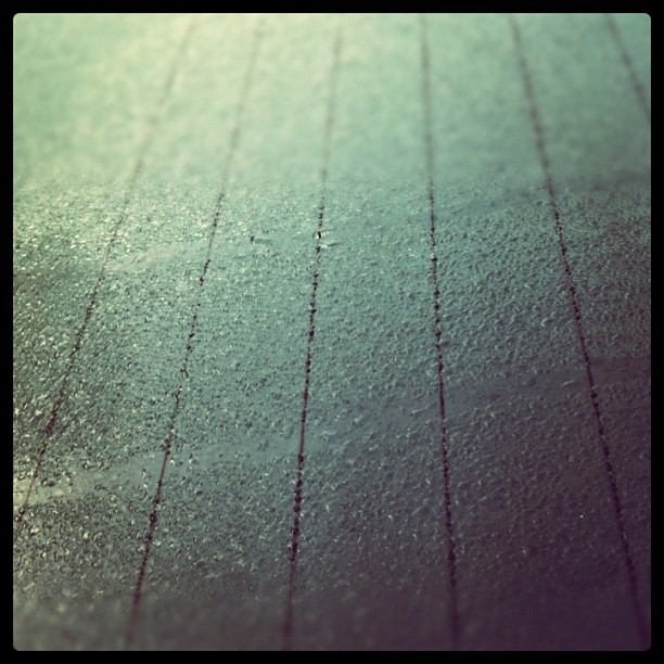 Frosted windscreen. (Taken with Instagram)